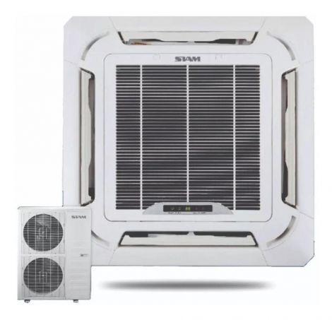 CASSETTE Inverter Aire Acondicionado Split Cassette Siam 18000fg 6Tr F/c - Cod.: SMCSIN6TRHC5N