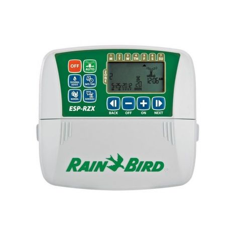 RIEGO  Controlador Rain Bird RZXe 6 estac. Apto Wifi + Trafo 220/24v - Cod.: F55336